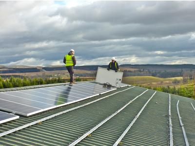 Wester Cumbushinnie - Solar